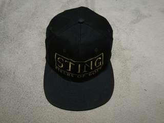 Vintage 90's STING (The Police) cap