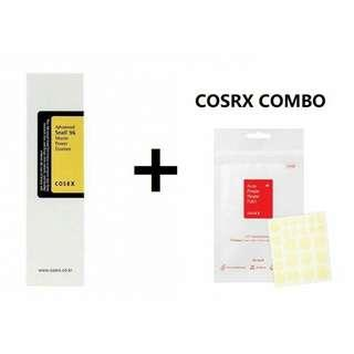 COSRX Advanced Snail 96 Mucin Power Essence 100ml +  Acne Pimple Master Patch 24patches