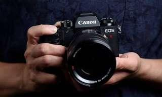 canon eos R bisa cash and credit