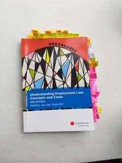 Understanding Employment Law by Natalie van der Waarden