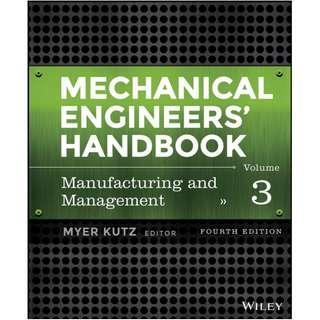 ( eBook Premium ) Mechanical Engineers' Handbook, Volume 3