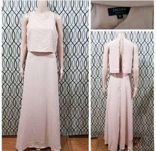 Zalora Peach Dress