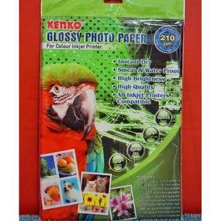 Kertas Foto Glossy A4 isi 18 lembar - Kertas Print Foto
