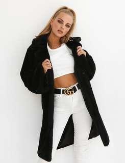 I am Gia Blair coat black