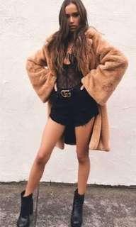 I am Gia Blair coat camel