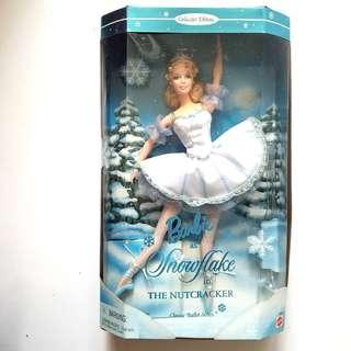 """1999s Barbie® Doll as Snowflake in """"The Nutcracker""""  collectedr edition, 12inches"""