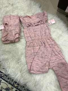 NEW - Mothercare Jumpsuit Girl