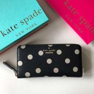Authentic Kate Spade Shore Street Lacey Zip Around Wallet