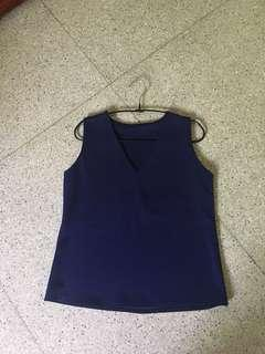 BKK blue tanktop/atasan
