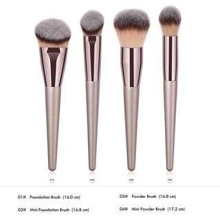 4pc Brush Set