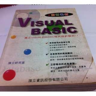 VISUAL BASIC 實例教材 旗立研究室~二手書