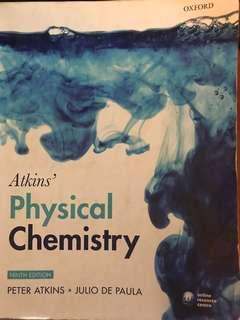 🚚 Atkin's Physical chemistry