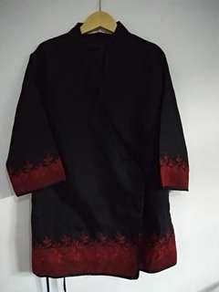 Outer model kimono