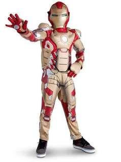Ironman Disney Costume kostume halloween Light up battery