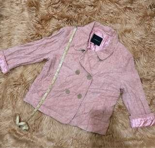 Black shop pink blazer
