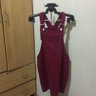 Maroon Jumper/Dress
