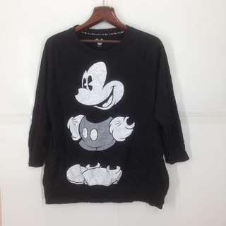 Ladies Mickey Mouse Sweatshirt
