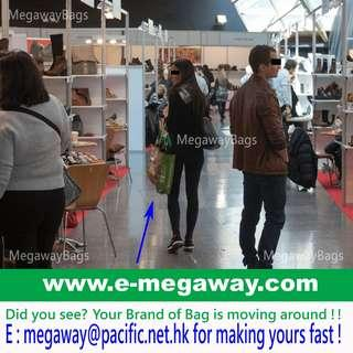 #Logo #Print #Studio #Bags #Gifts #Exhibitor #Buyers #Sellers #Retailers #Wholesaler #Brand-owner #Owner #Show #Propaganda #Brand #Advertising #Festival #Grocery #Tote #Celebration #Visitor #Event #Promotion #Souvenir @MegawayBags #Megaway #MegawayBags