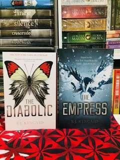 S. J. Kincaid | The Diabolic + The Empress