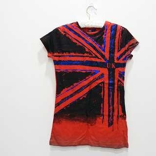 🚚 英國帶回 UK英國國旗T恤 合身