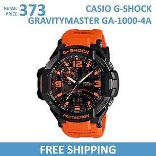 Casio G-Shock Gravitymaster GA1000-4A Men's Watch / GA-1000-4A / GA10004A