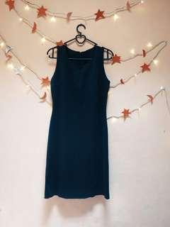 Midi dress fitbody