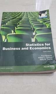 Statistics for Business and Economics (eighth edition) Paul Newbold, William L.carlson, Betty M. Throne