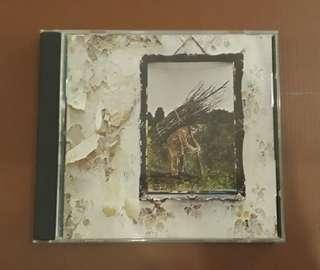 CD Led Zeppelin - IV ( Original 1971 Early USA Press )