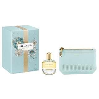 🚚 Elie Saab Girl of Now 2 Pcs Gift Set for Women (50ml EDP + Mini Pouch)