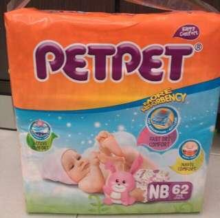 Pampers PetPet for newborn