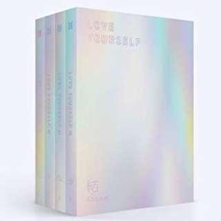 ONHAND UNSEALED BTS LOVE YOURSELF ANSWER