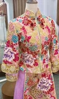 Traditional Wedding Kua /wedding gown