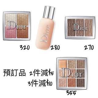 Dior Backstage 粉底 眼影 highlighter eye shadow