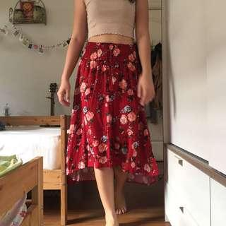 Cotton on Floral maxi skirt #midsep50