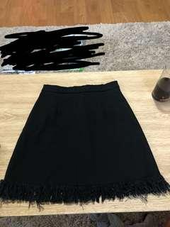 MAXIM BLACK SKIRT