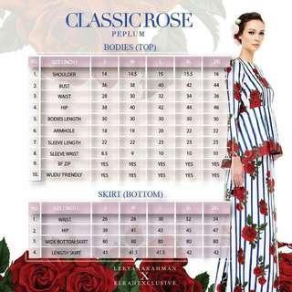 Classic Rose Leeyanarahman XXL