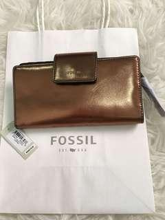 Fossil Purse tab cooper