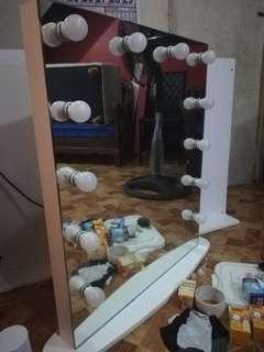 True hollywood frameless vanity mirror