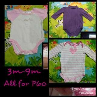 Sets for Baby girl 3-9M