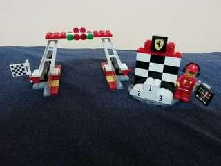 Shell Lego F1 Victory Stand