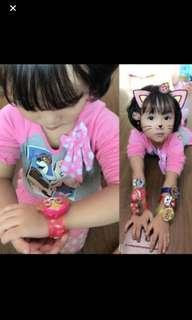 Hot selling paw patrol handwrist w Lights 3 effects .. 6 Design Available !! Stock running low and no more restock !! Brand new
