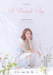 WTS YoonA So Wonderful Day #Story_1 Fanmeeting VIP x1
