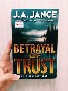 ENGLISH NOVELS Betrayal of Trust