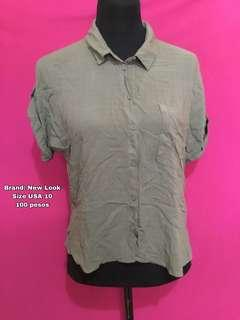 New Look Polo Top #99sale