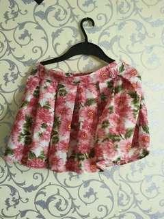 Preloved Floral Skirt