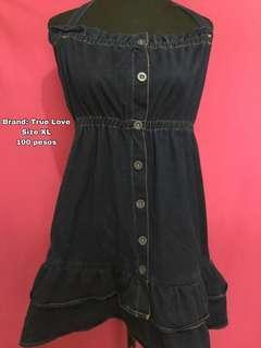 True Love Denim Dress #99sale