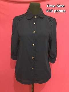 Navy Blue Top #99sale