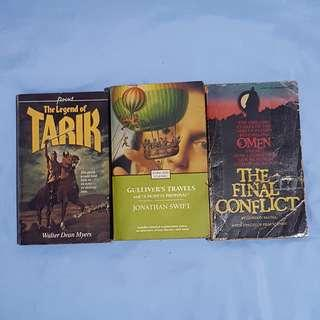 """the Legend of Tarik + Gulliver's Travels & """"A Modest Proposal"""" + the Final Conflict"""