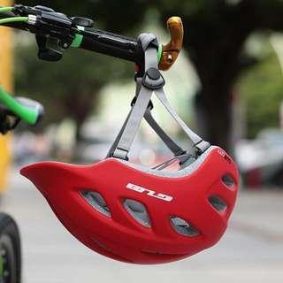 Red GUB Bicycle Helmet Protective Helmet Ultra-lightweight Integrated In-mold Helmet