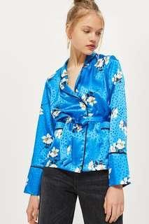 TOPSHOP Floral Belted Pyjama